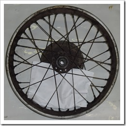 Front Wheel None Bake Side